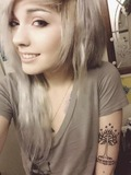 Echo Marie  Jett ( 21, right eye is blue, left eye is green, pastel hair.) *Destery's bff, Brittish*