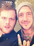 Austin Charlile and Danny Worsnop